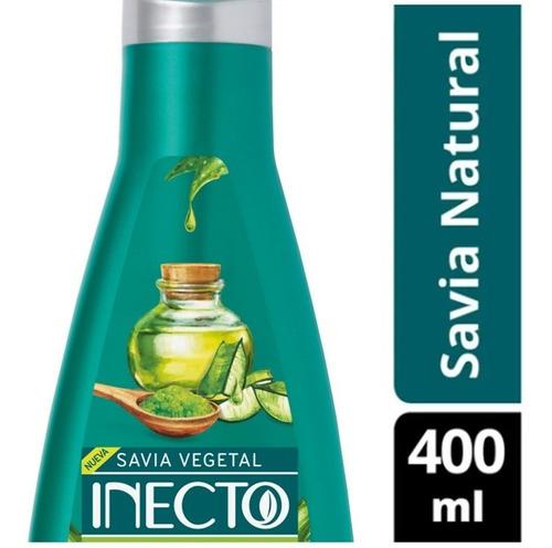 Acondicionador Savia Natural Con Aloe Vera Y Matcha Inecto