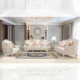 Sala Luis Xv, Sala 3 Piezas, Sala Clásica Nueva Y Elegante