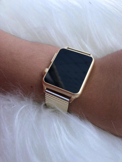 Relógio De Pulso Digital Led Feminino Masculino Hora Data