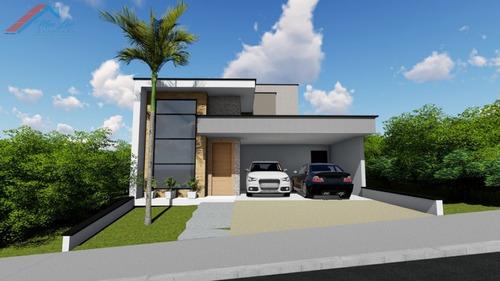 Casa A Venda No Bairro Jardim Golden Park Residence Em - Ca 117-1