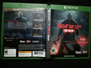 Friday The 13 The Game Xbox One