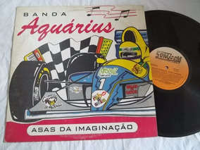 Lp Vinil - Banda Aquarius - Asas Da Imaginação - Rock Pop