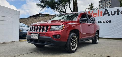 Imagen 1 de 10 de Jeep Compass 2.4 Latitude 4x2 Automatico Rojo 2015