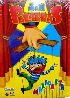 Sin Palabras Marioneta Juego De Mesa Nuevo Tv Toyco Bigshop