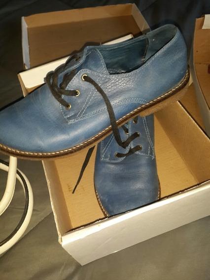 Zapatos Muy Buen Estado Puro Cuero