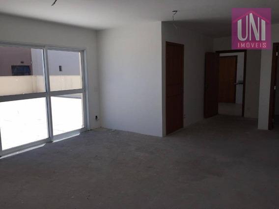 Cobertura Com 3 Dormitórios À Venda, 240 M² Por R$ 1.100.000 - Vila Assunção - Santo André/sp - Co0724