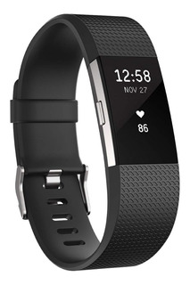Pulsera Actividad Fitbit Charge 2 - Large - Negro - Nuevo