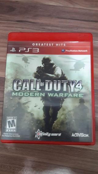 Call Of Duty Cod 4 Mw Ps3 Midia Fisica