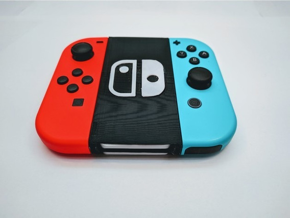 Porta Jogos Joycon Grip Nintendo Switch - Impresso Em 3d