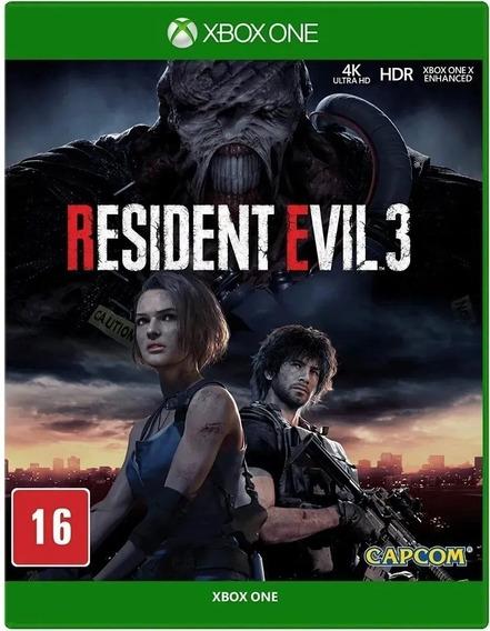 Resident Evil 3 Remake Xbox One - Nacional - Lacrado + Nf