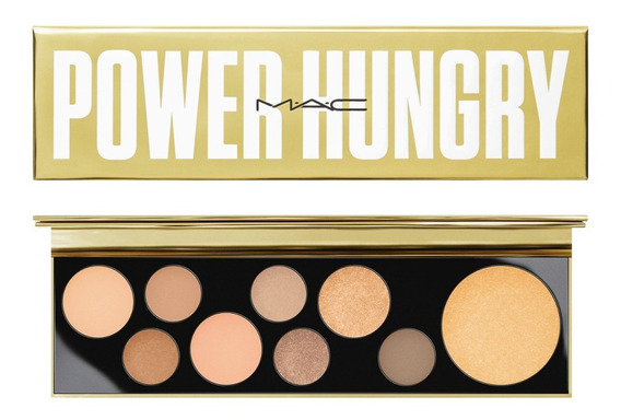 Paleta De Sombras + Iluminador Mac Girls / Power Hungry 14g
