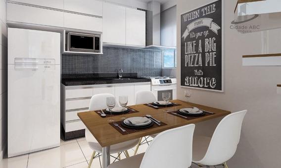 Apartamento Com 2 Dormitórios À Venda, 40 M² Por R$ 229.000 - Vila Pires - Santo André/sp - Ap1198