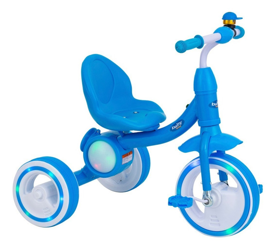 Triciclo Musica Y Luces Baby Way Bw-504