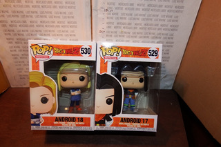 Pack 2 Funko Pop Dragon Ball Z Androide 17 18 Pop Animation