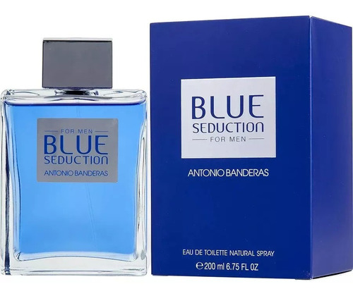 Blue Seduction Ab Hombre 6,7oz (200ml) Original Sellada