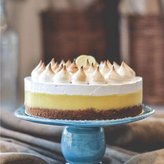 Torta Lemon Pie Tarta Mesa Dulce
