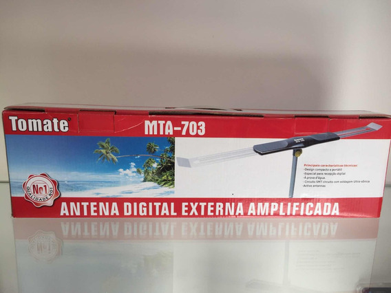 Antena Digital Externa Amplificada Mta-703