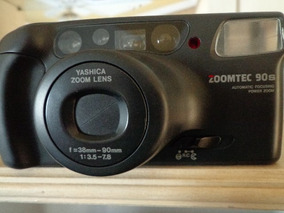 Máquina Fotográfica Yashica Zoomtec 90s 38 Mm