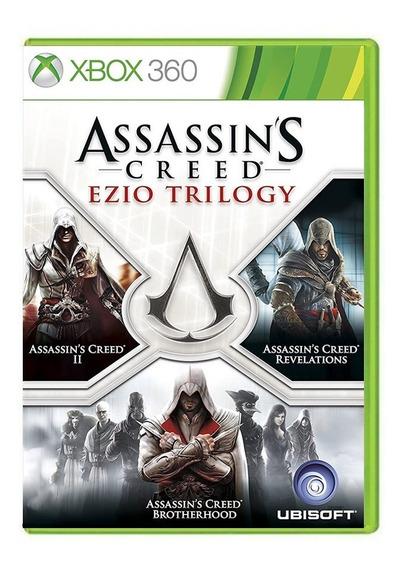 Assassins Creed Ezio Trilogy - Xbox 360 - Usado - Original