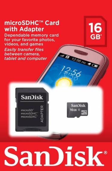 Cartão De Memória Sandisk De 8gb