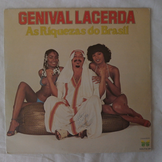 Lp Genival Lacerda 1980 As Riquezas Do Brasil Vinil Seminovo