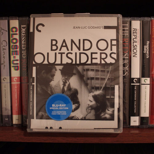 Criterion - Band Of Outsiders (bluray) - Jean-luc Godard
