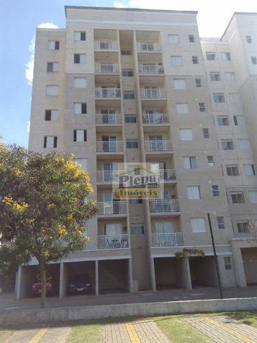 Imagem 1 de 30 de Apartamento Residencial À Venda, Parque Residencial João Luiz, Hortolândia. - Ap0829