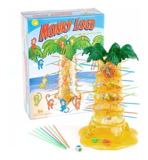 Juego De Mesa Monky Loco Ditoys El De Los Monitos