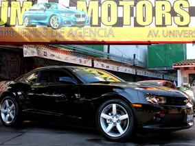 Chevrolet//camaro V6 Lt//2015 Como Nuevo!! Piel Qc 4,000 Kms
