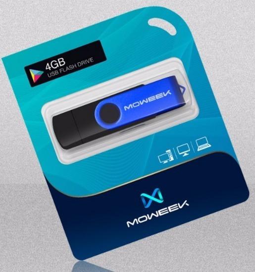 Pen Drive 4gb Usb Micro Para Pc E Smartphone Preto