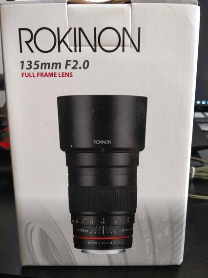 Lente Rokinon 135mm F/2.0