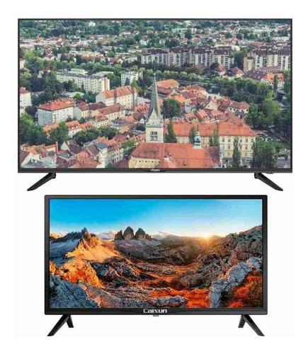 Imagen 1 de 2 de Combo Tv Exclusiv 43  Smart Tv Fhd + Tv Caixun 24  Básico Hd