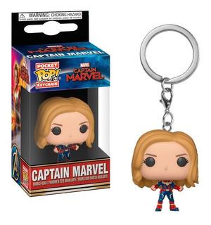 Funko Pop Keychain Captain Marvel Marvel