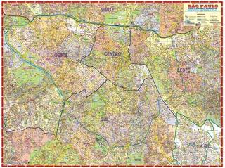 Mapa São Paulo Centro Expandido Com Zona Oeste Ruas Gigante