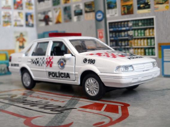 Miniatura Vw Santana Polícia Militar Pm Sp - 1/40 Atual