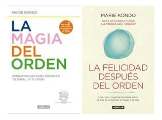 Pack Marie Kondo - Magia + Felicidad - 2 Libros Aguilar