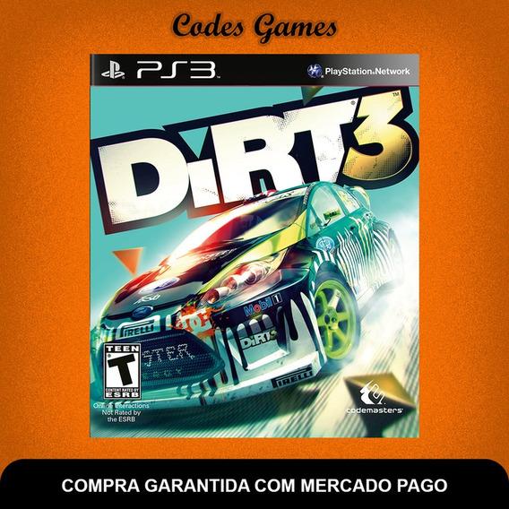 Dirt 3 - Ps3 - Pronta Entrega