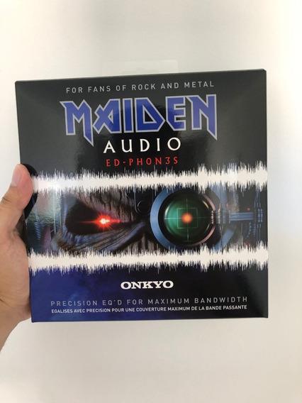 Iron Maiden Headphone Onkyo Importado Novo Pronta Entrega