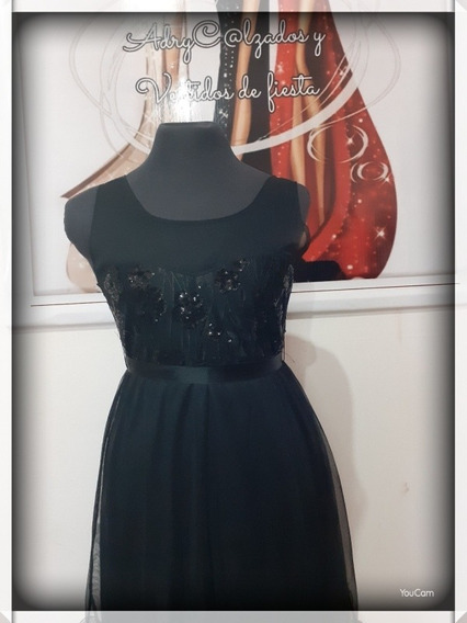 Vestido Negro De Fiesta !!!