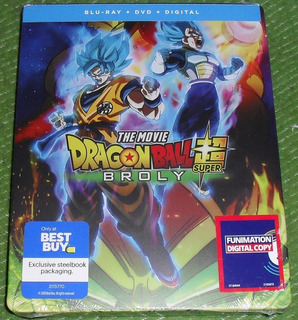 Dragon Ball Super: Broly Blu-ray Dvd Steelbook Best Buy