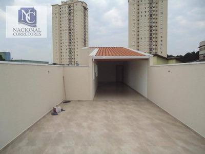Cobertura Com 3 Dormitórios À Venda, 170 M² Por R$ 520.000 - Vila Curuçá - Santo André/sp - Co2408