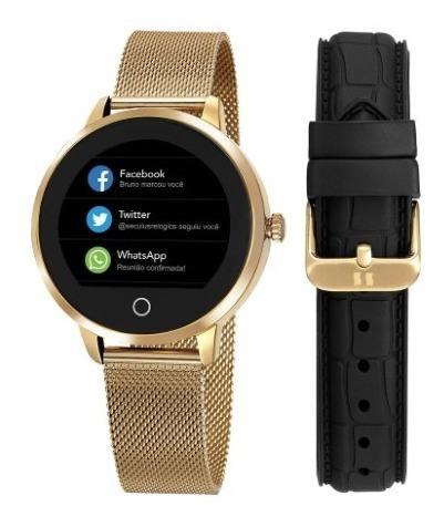 Relógio Digital Seculus Smart Feminino 79003lpsvda2
