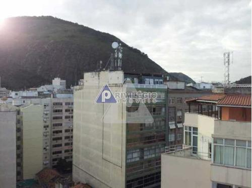 Imagem 1 de 14 de Apartamento À Venda, 1 Quarto, Copacabana - Rio De Janeiro/rj - 15168
