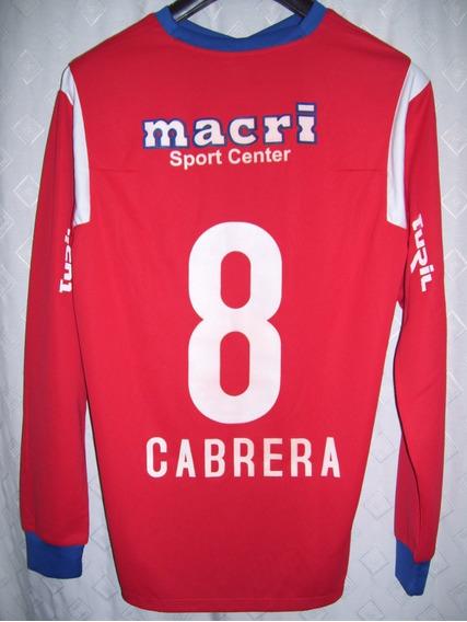 Nacional De Uruguay Match Worn Libertadores 2011 Cabrera