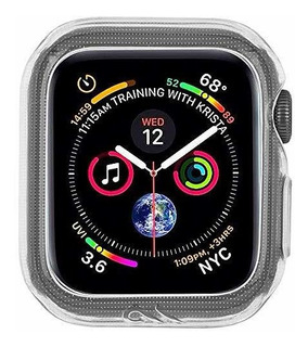 Case-mate - Carcasa Para Apple Watch (38 Mm, 40 Mm), Transpa