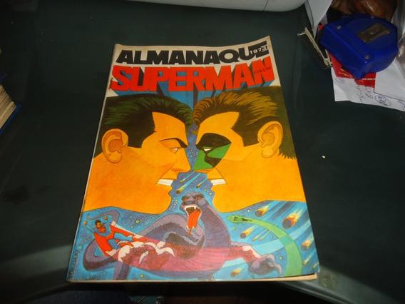 Almanaque Superman 1973 Ebal Excelente Estado