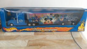 Lindo Caminhão Da Hotwheels Disney.edição De Colecionador