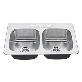 Estándar Americano 20db8332283s075 Colony Top Mount 33x22 D