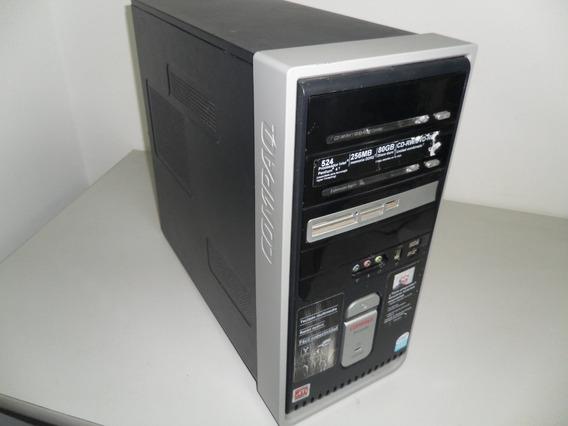 Cpu Pentium 4 3.06ghz Ht 80dd 2gb Ram Ddr2 Wifi 45vrd Remate