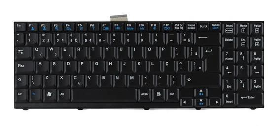 Teclado Notebook LG Lw60 Lw70 - 3823b01081a - Preto - Br